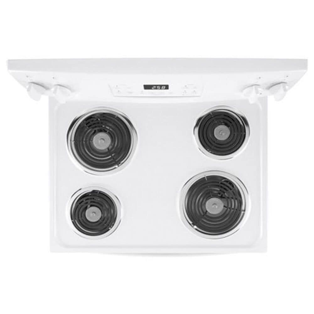 """GE Appliances 30"""" Free-Standing Self-Clean Electric Range in White, , large"""