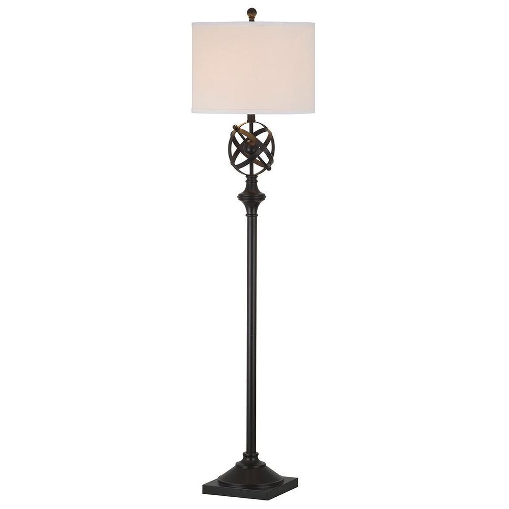 "Safavieh Franklin 60"" Armillary Floor Lamp in Oil-Rubbed Bronze, , large"