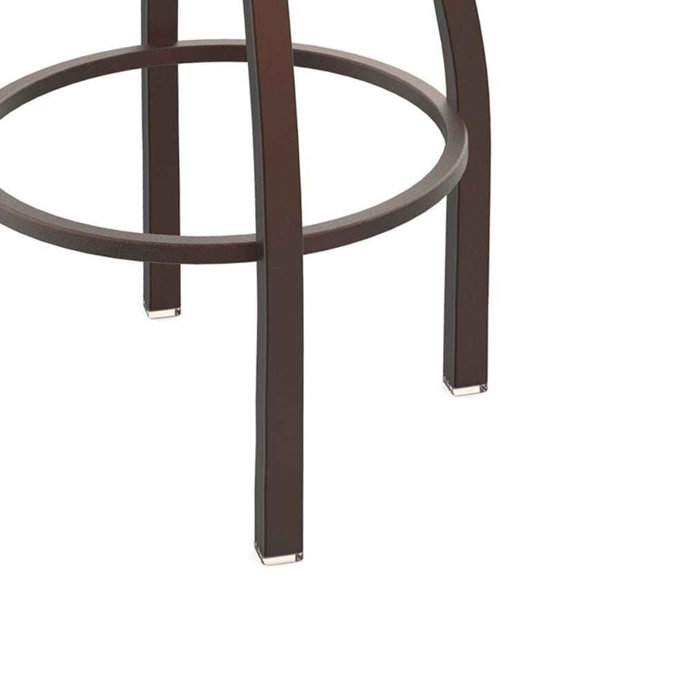 """Holland Bar Stool 411 Jackie 25"""" Low Back Swivel Counter Stool with Bronze and Dark Cherry Maple Seat, , large"""