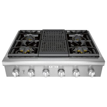 "Thermador 36"" Professional Rangetop - Stainless Steel, , large"