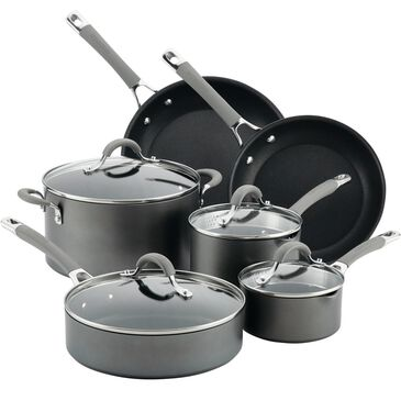Circulon Cookware 10-Piece Cookware Set in Oyster Gray , , large