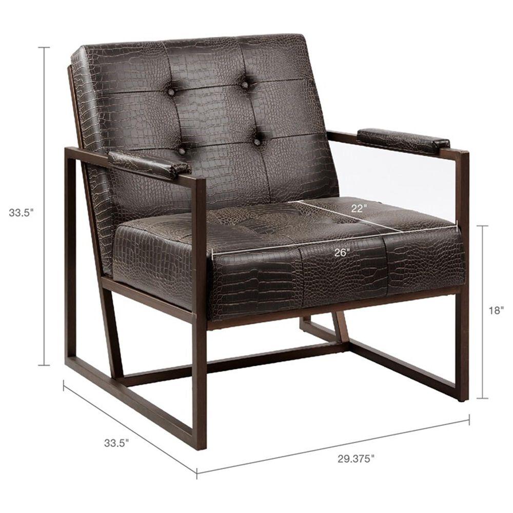Hampton Park Waldorf Lounge Chair in Chocolate, , large