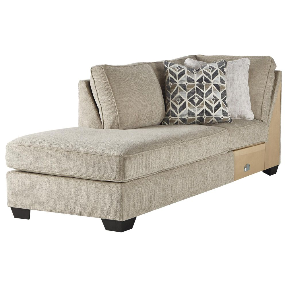 Signature Design by Ashley Decelle 2-Piece Stationary Sectional in Putty, , large