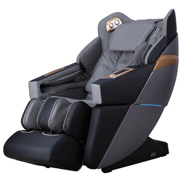 Osaki Ador 3D Allure Zero Gravity Voice Activated Massage Chair in Black and Charcoal, , large