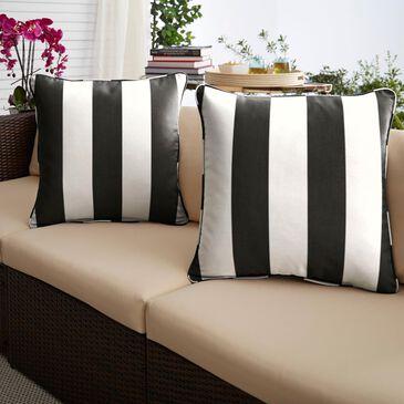 "Sorra Home Sunbrella 18"" Pillow in Cabana Classic (Set of 2), , large"