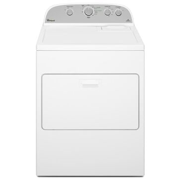 Whirlpool 7.0 Cu. Ft. HE Electric Dryer with AccuDry Sensor in White, , large