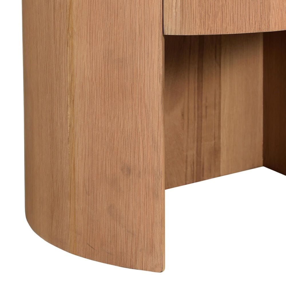 Moe's Home Collection Theo 1 Drawer Nightstand in Natural, , large