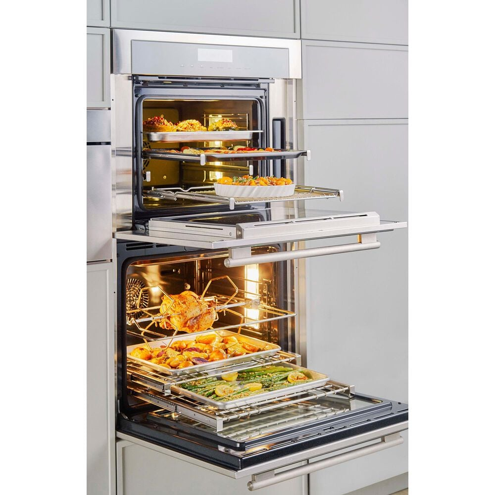 """Thermador 30"""" Masterpiece Combination Speed Oven in Stainless Steel, , large"""
