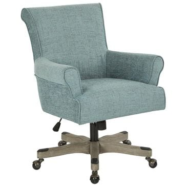 OSP Home Megan Office Chair in Turquoise, , large
