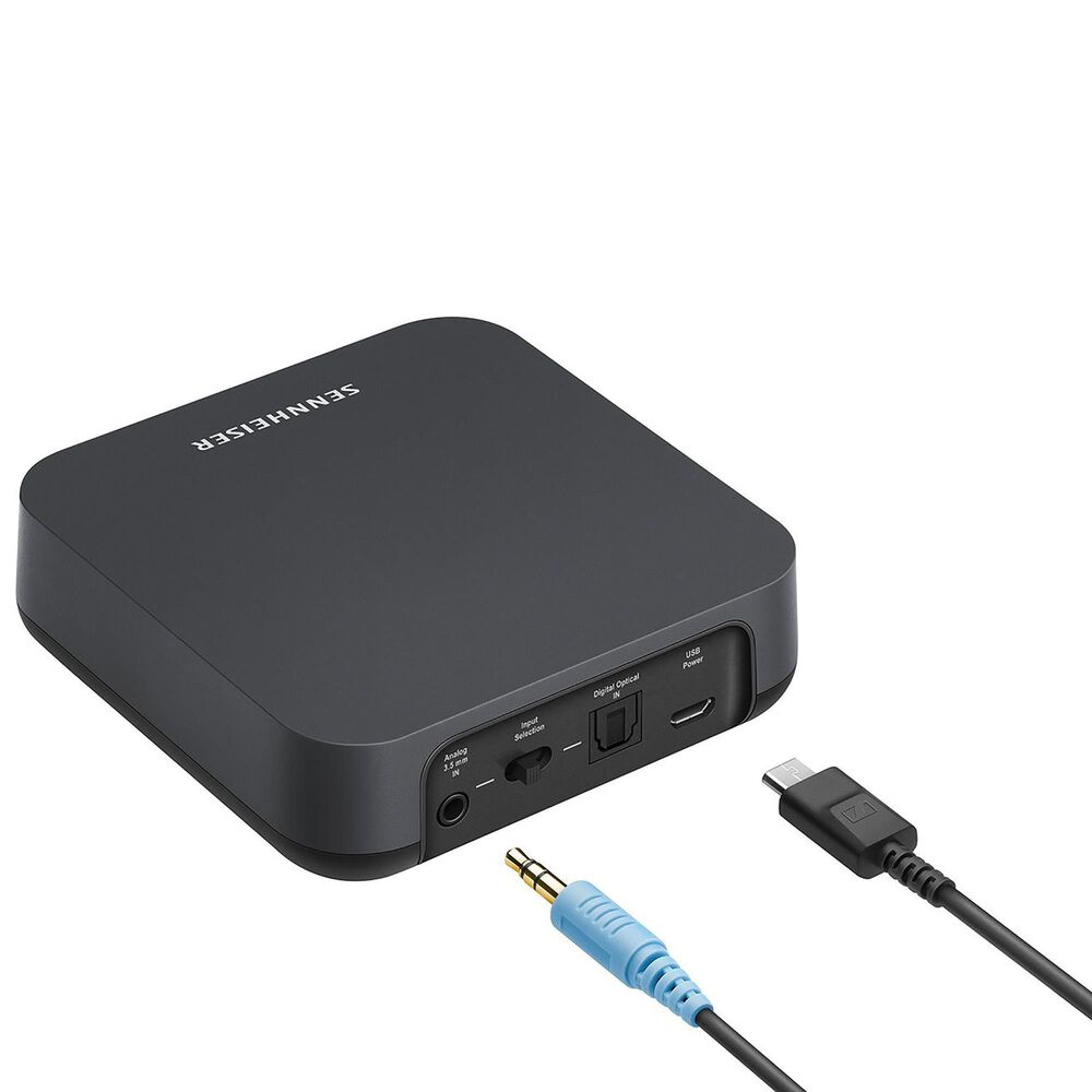 Sennheiser BT T100 Bluetooth Audio Transmitter in Black, , large