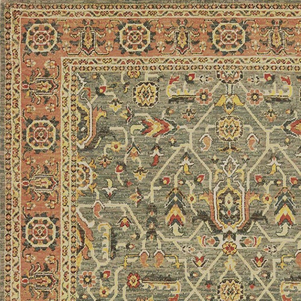 "Oriental Weavers Toscana 9537B 1'10"" x 3' Blue Runner, , large"