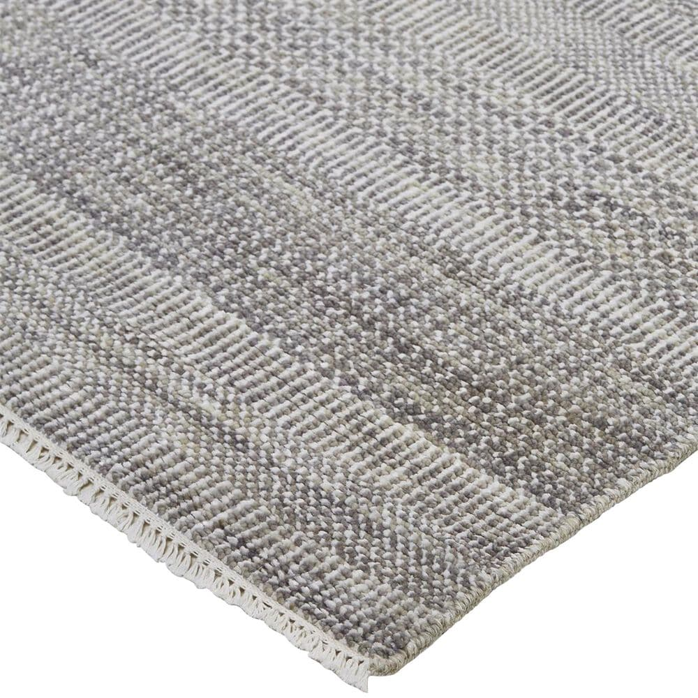 """Feizy Rugs Janson I6063 7'9"""" x 9'9"""" Gray and Silver Area Rug, , large"""