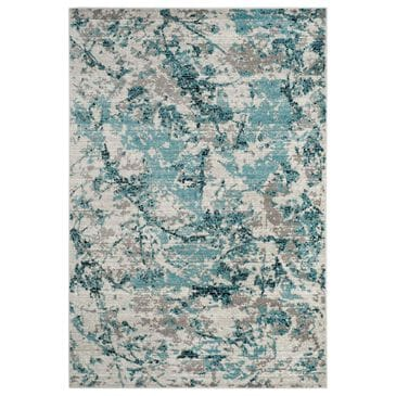 "Safavieh Skyler SKY186M 6"" x 9"" Blue and Ivory Area Rug, , large"