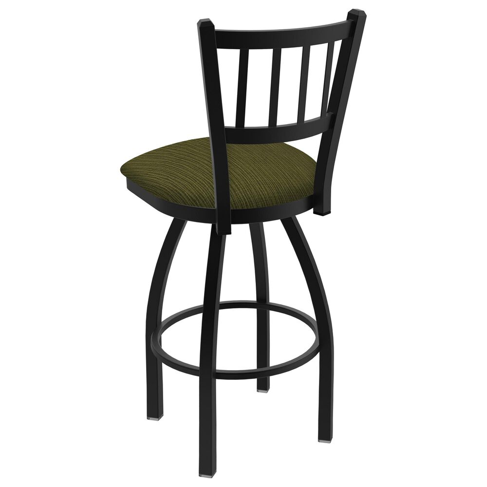 """Holland Bar Stool 810 Contessa 25"""" Swivel Counter Stool with Black Wrinkle and Graph Parrot Seat, , large"""