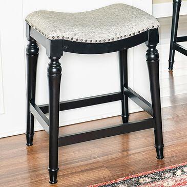 Parkerville Furniture Line Lockhart Black Counter Stool, , large