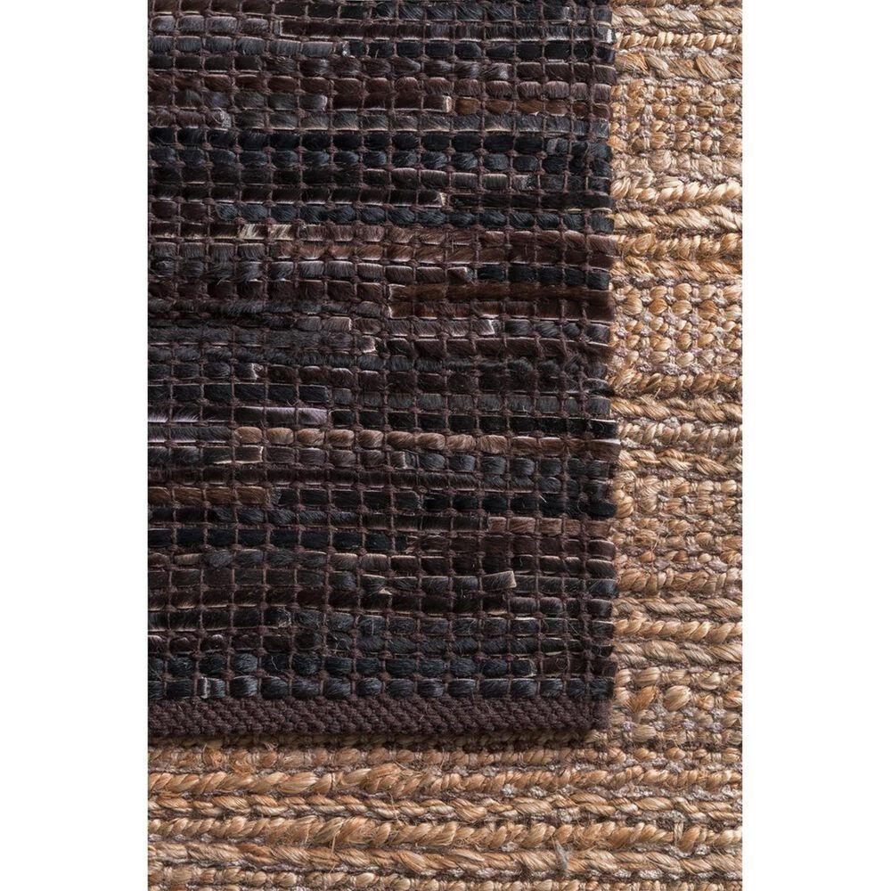 "nuLOOM Kodiak MRKD01B 7'7"" x 9'6"" Dark Brown Area Rug, , large"