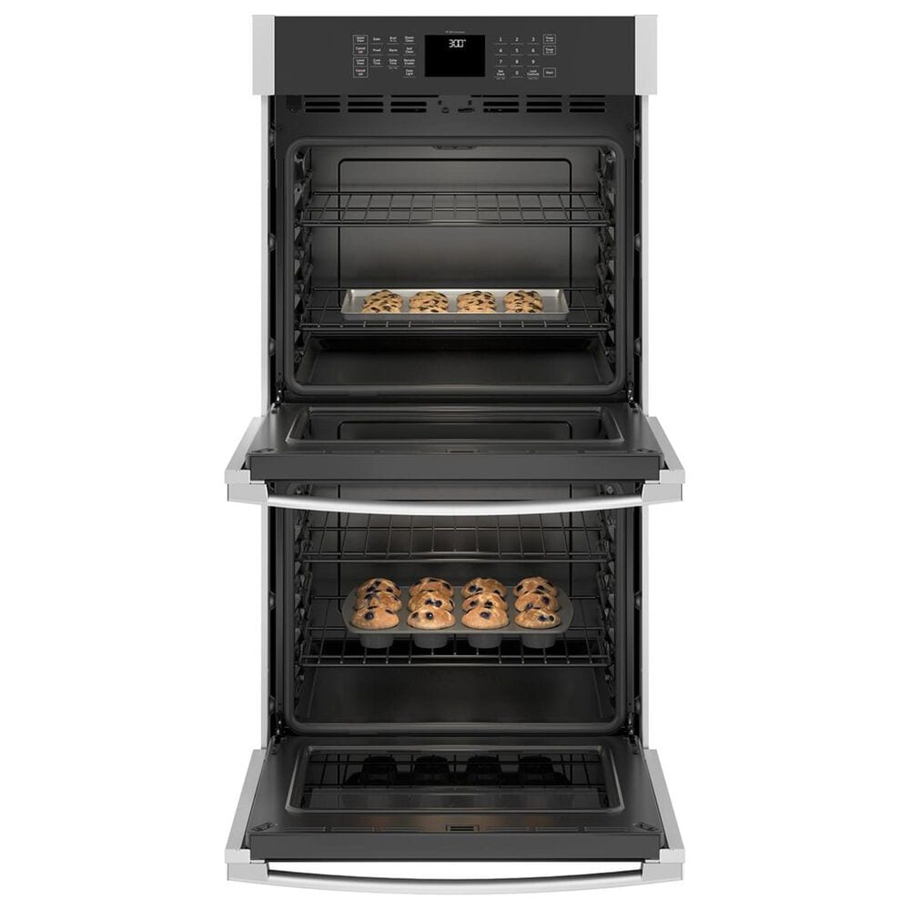 """GE Appliances 27"""" Built-In Double Wall Oven in Stainless Steel, , large"""