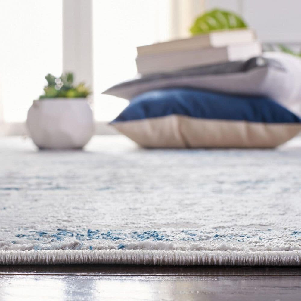 "Safavieh Amelia 4'5"" x 6'5"" Gray and Blue Area Rug, , large"