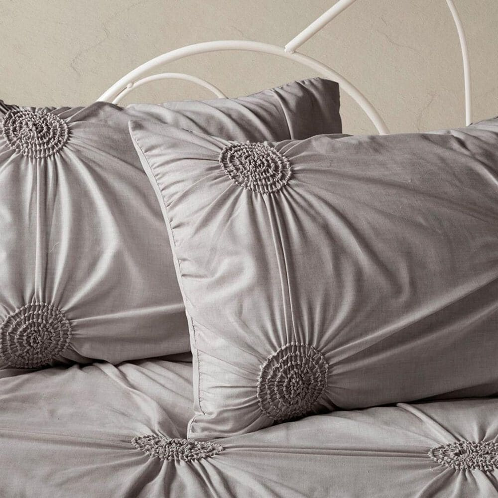 Hampton Park Leila 6-Piece Daybed Cover Set in Dark Gray, , large
