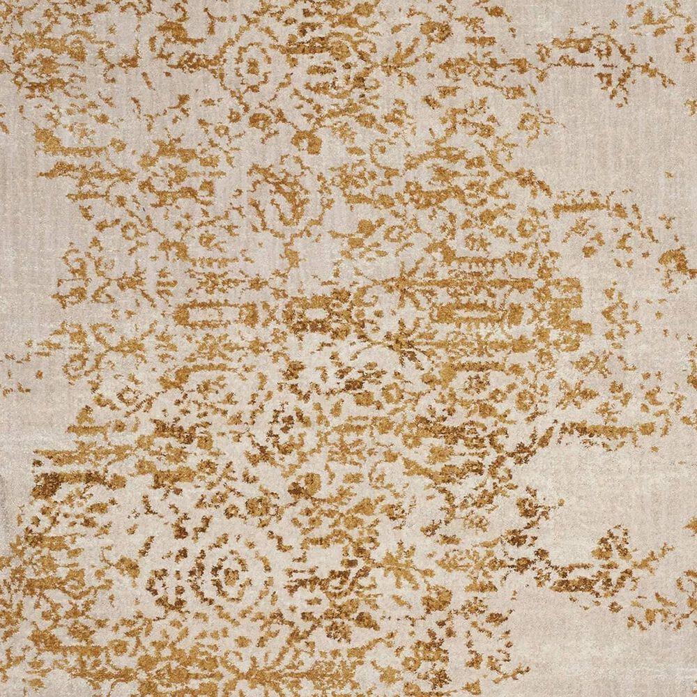 Karastan Cosmopolitan Nirvana 8' x 11' Brushed Gold Area Rug, , large