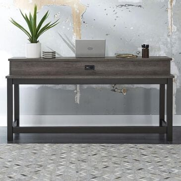 Belle Furnishings Tanners Creek Console Bar Table in Greystone, , large