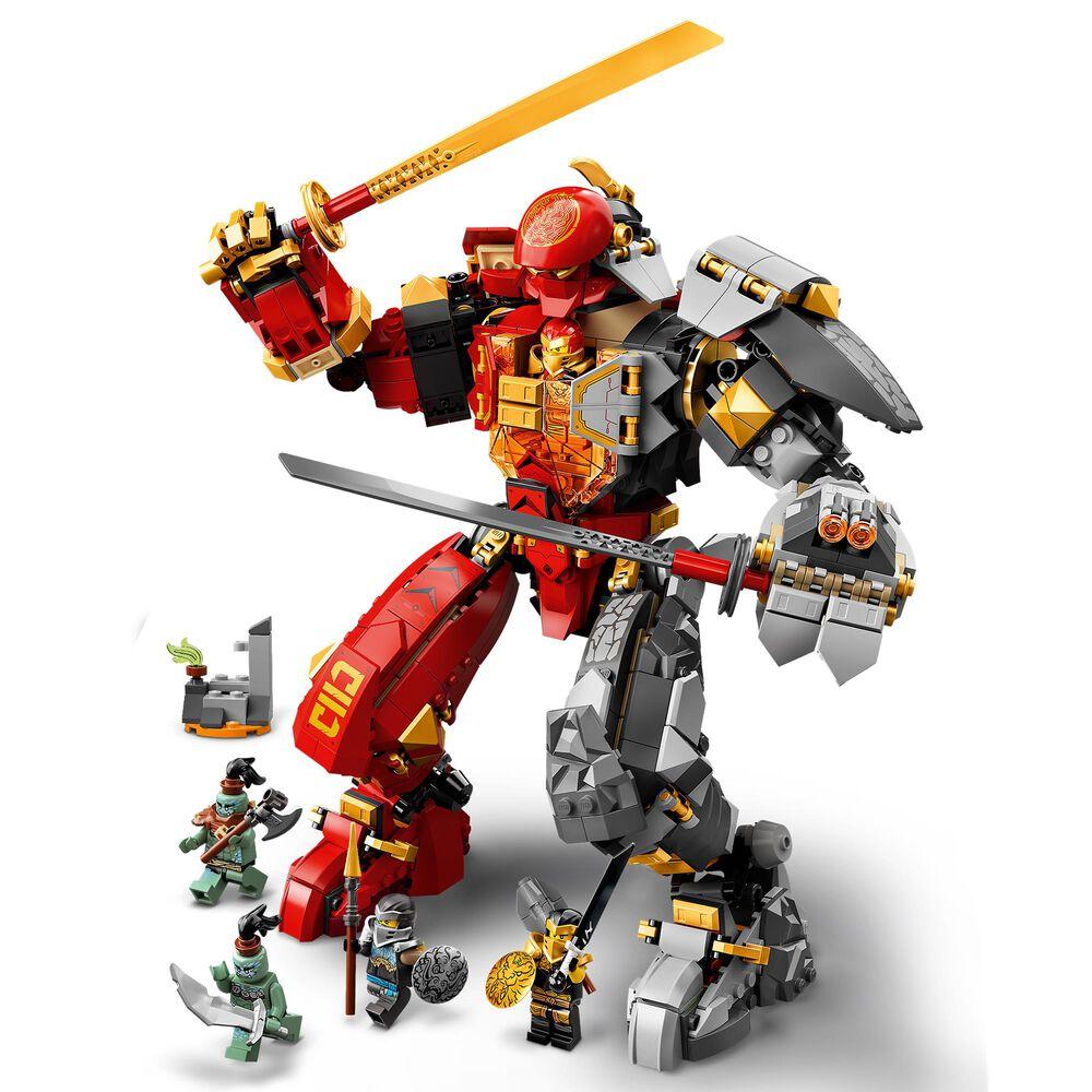 LEGO Ninjago Fire Stone Mech Building Set, , large