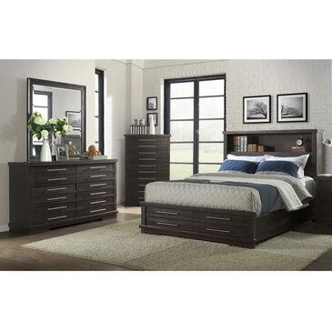 Martin Svensson Home Waterfront 3 Piece Queen Bedroom Set in Rustic Grey, , large