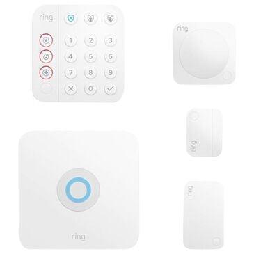 Ring 5-Piece Alarm Kit V2 Standard in White, , large