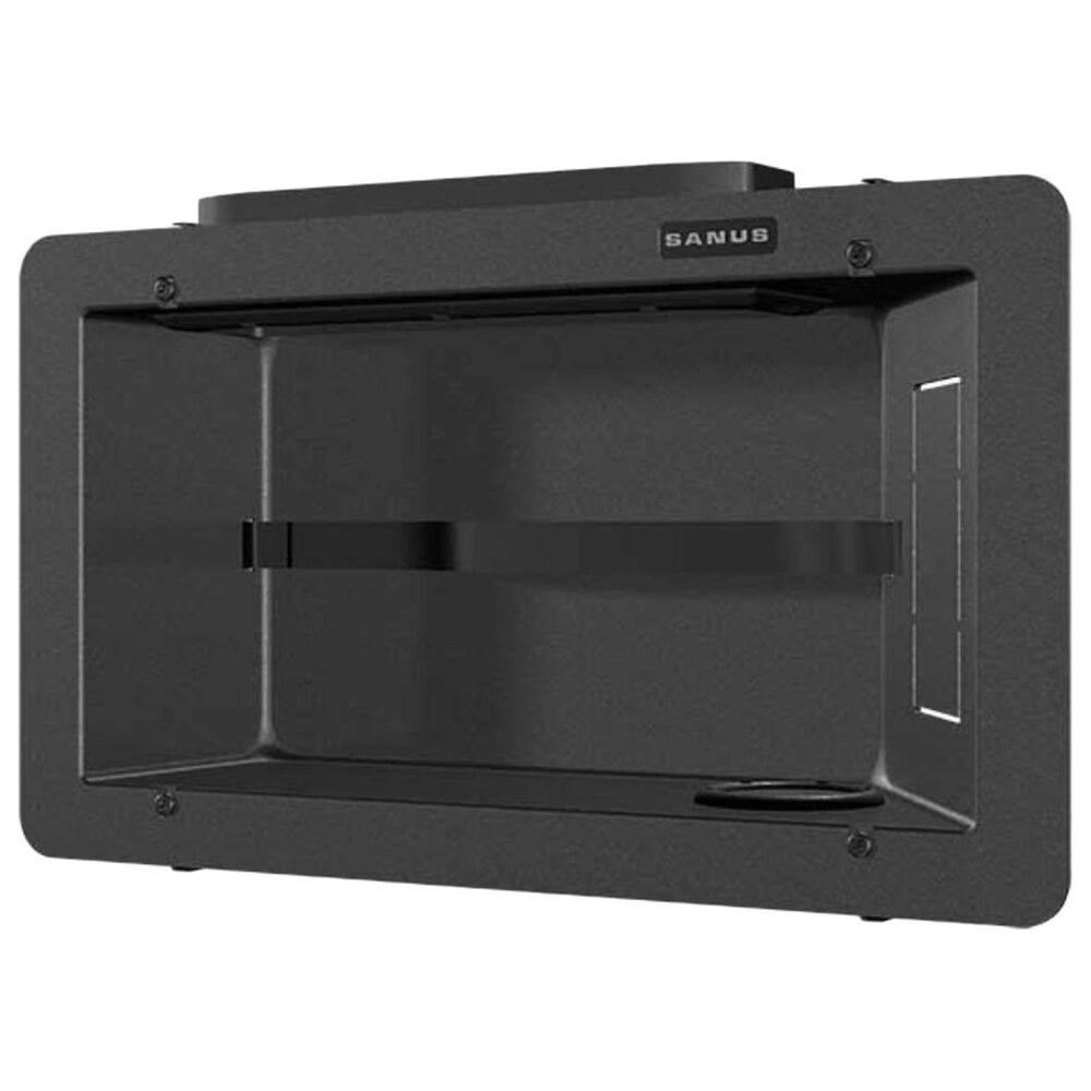 Sanus Recessed Component Box in Black, , large