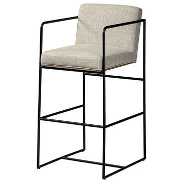 Mercana Stamford II Bar Chair in Cream, , large