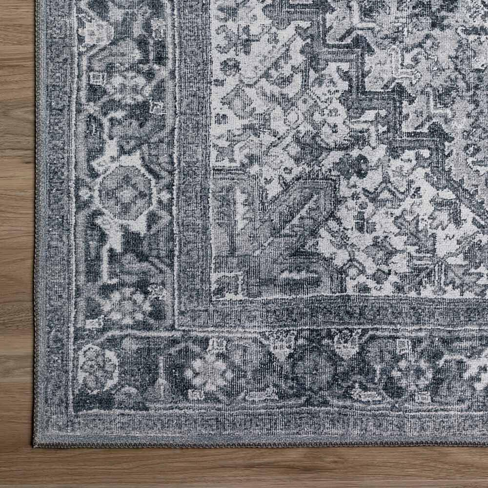 """Dalyn Rug Company Amanti AM3 2'3"""" x 7'7"""" Steel Scatter Runner, , large"""