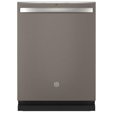 GE Appliances Built-In Dishwasher with Hidden Controls and 3rd Rack in Slate, , large