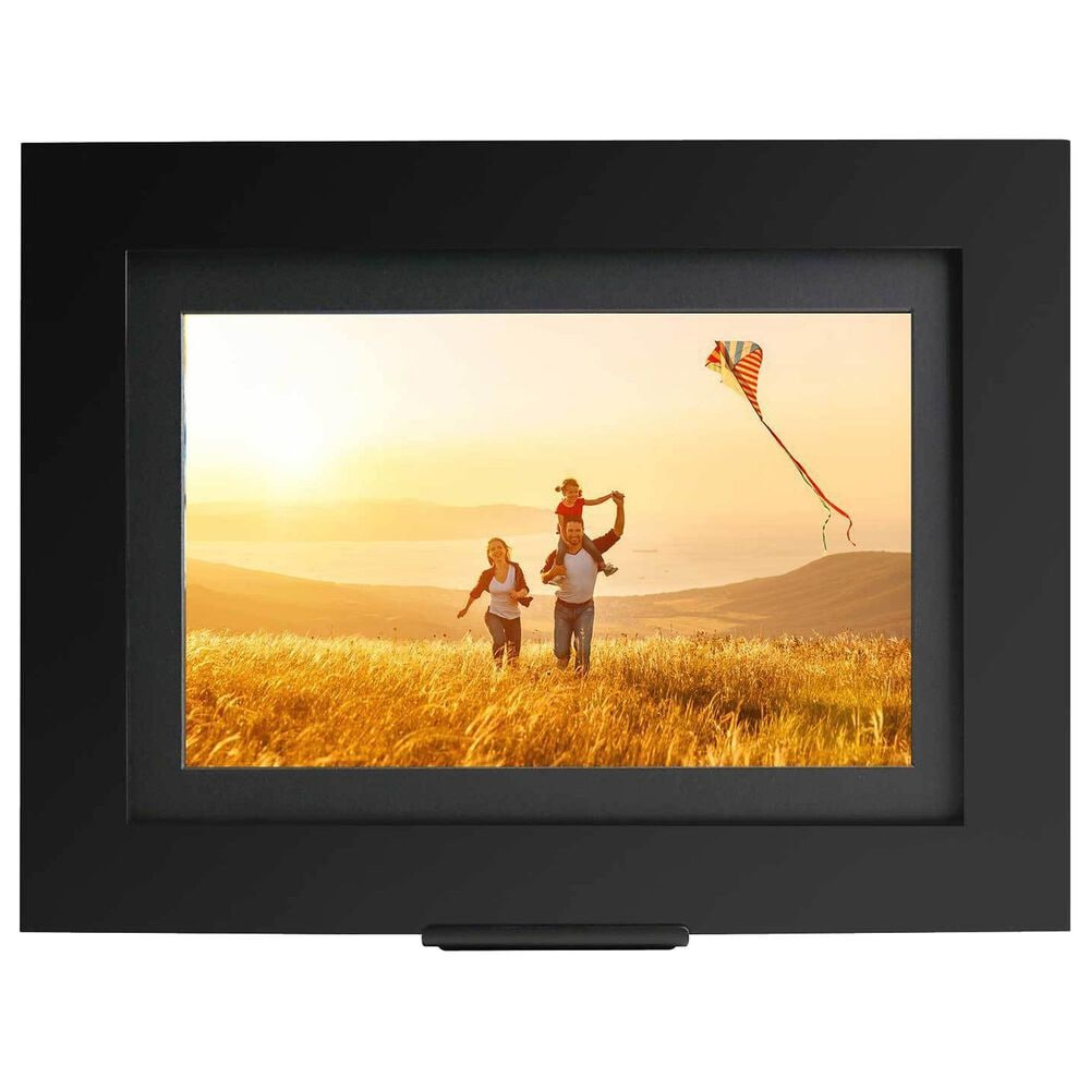 """Simply Smart Home PhotoShare Friends and Family 8"""" Smart Digital Photo Frame in Black, , large"""