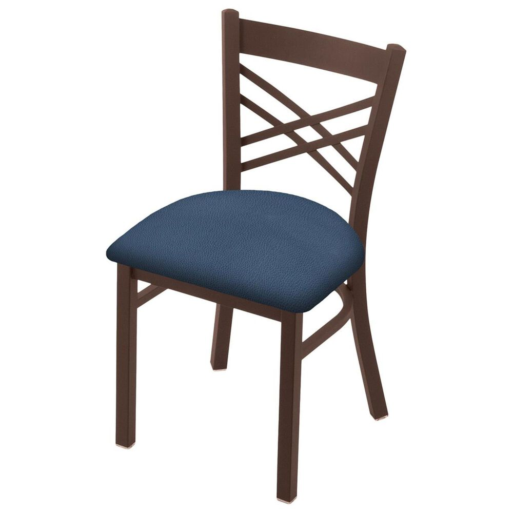 """Holland Bar Stool 620 Catalina 18"""" Chair with Bronze and Rein Bay Seat, , large"""