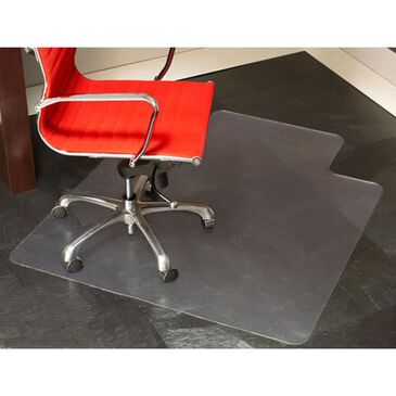 """E.S. Robbins 36"""" x 48"""" Clear Chair Mat for Hard Surface Floors, , large"""