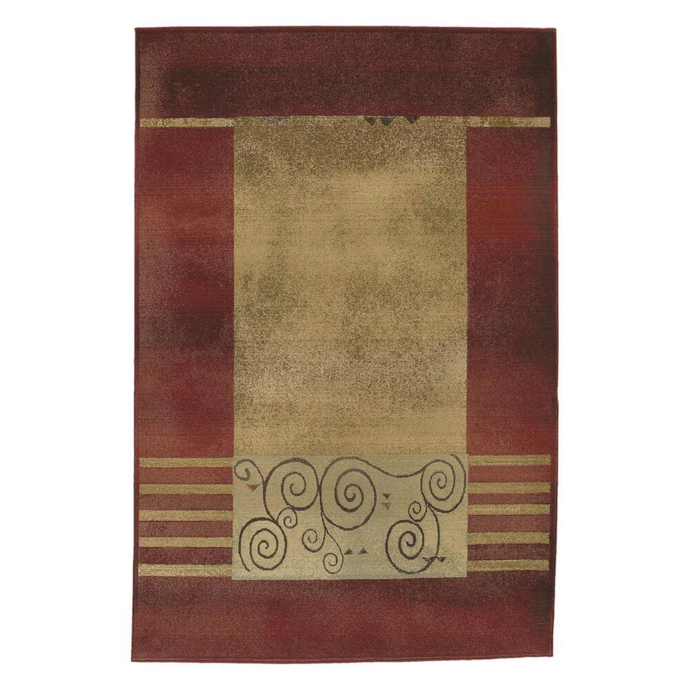 """Oriental Weavers Generations 213R 2'3"""" x 4'5"""" Red Area Rug, , large"""