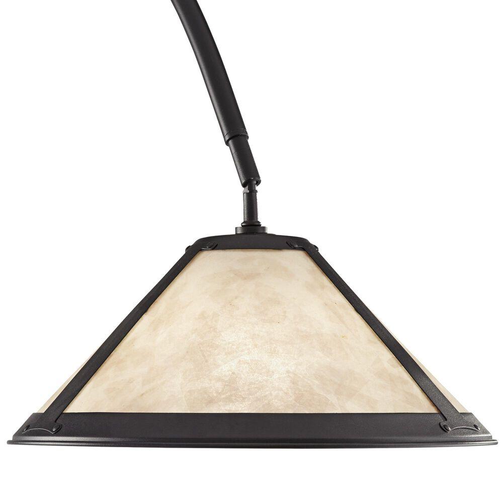 Pacific Coast Lighting Hewitt Floor Arc Lamp in Matte Black, , large