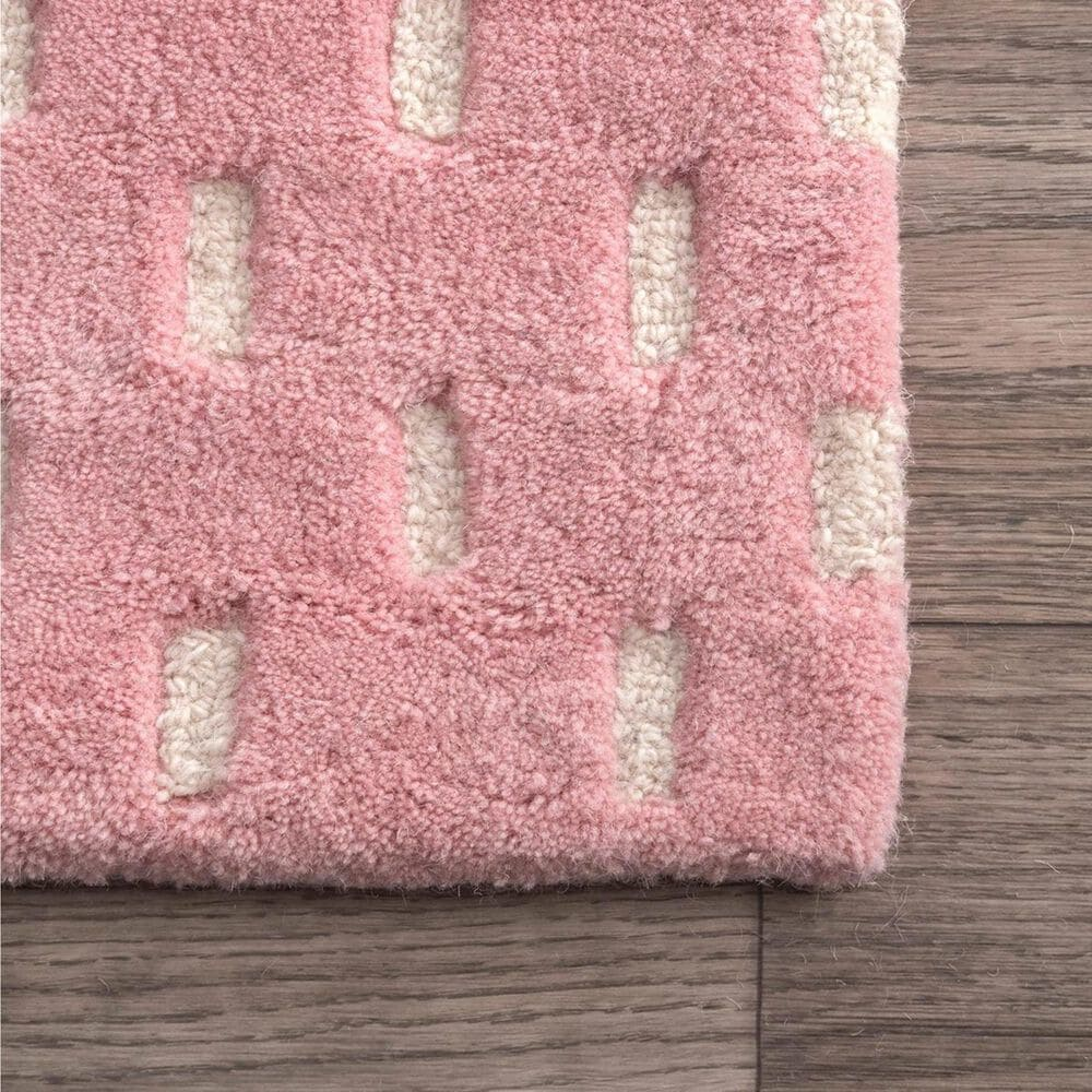 nuLOOM Nora MTNR01C 5' x 8' Pink Area Rug, , large