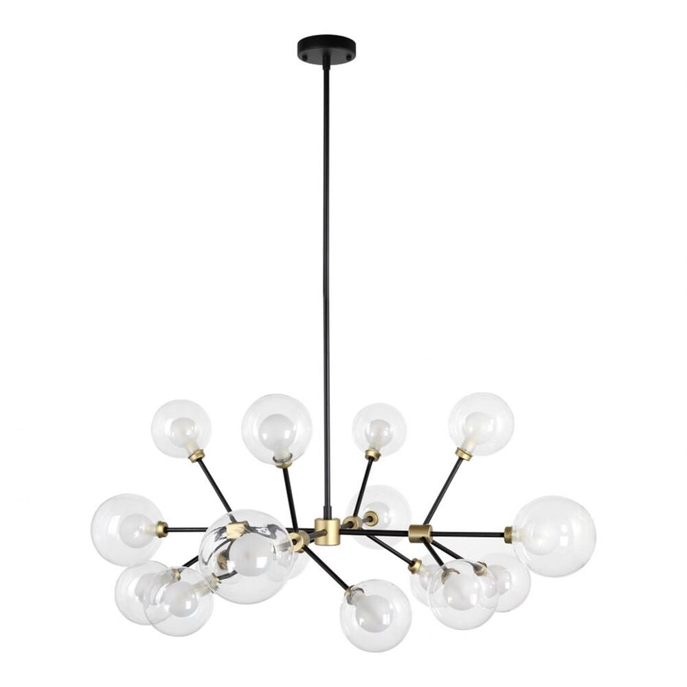 Moe's Home Collection Andromeda Pendant Light in Gold, , large