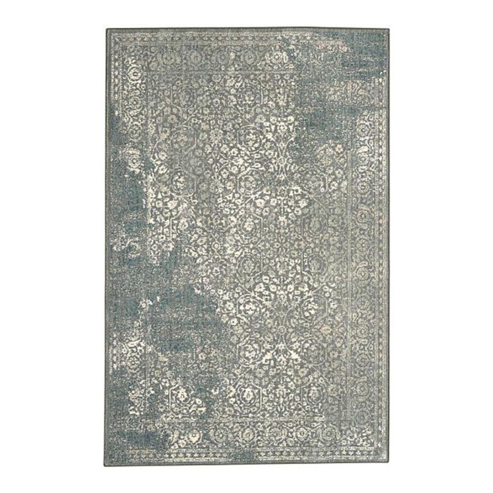 """Karastan Euphoria Ayr 90643 5""""3"""" x 7""""10"""" Willow Grey Area Rug, , large"""