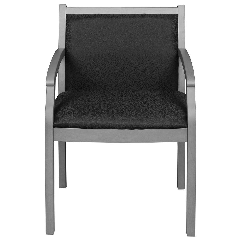 Regency Global Sourcing Regent Side Chair in Grey/Black, , large