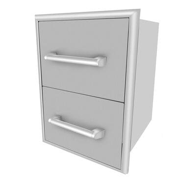 Coyote Outdoor Two Drawer Cabinet, , large