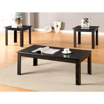 Titanic Furniture 3-Pack Occasional Table Set in Black, , large