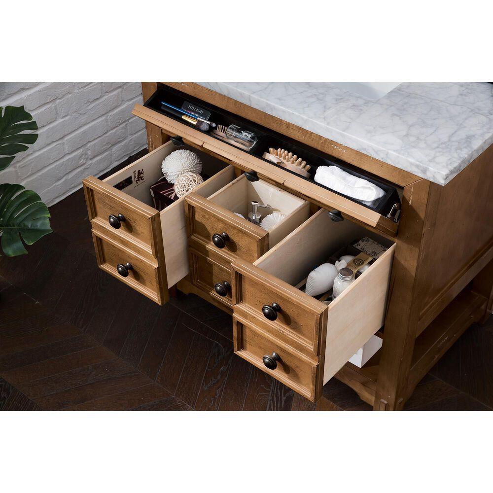 "James Martin Malibu 36"" Single Vanity Cabinet in Honey Alder, , large"