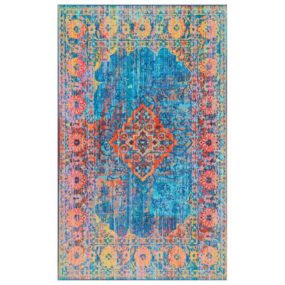 nuLOOM Giza MCGZ33A 8' x 10' Blue Area Rug, , large