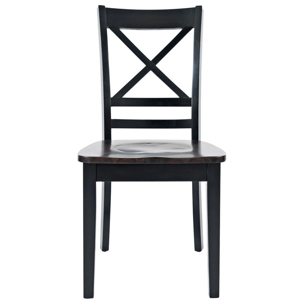 Waltham Asbury Park X-Back Chair in Black and Autumn, , large