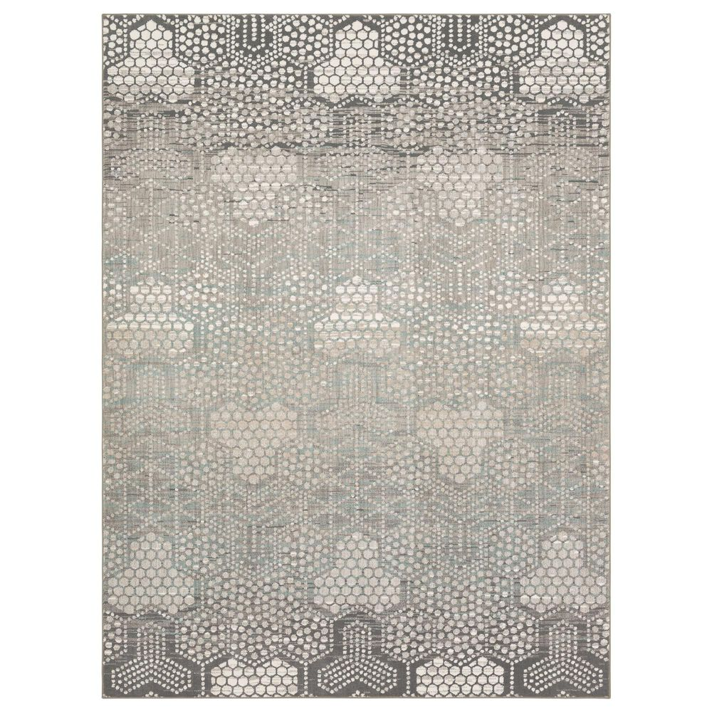 Karastan Epiphany Oriol 8' x 10' Dim Grey Area Rug, , large