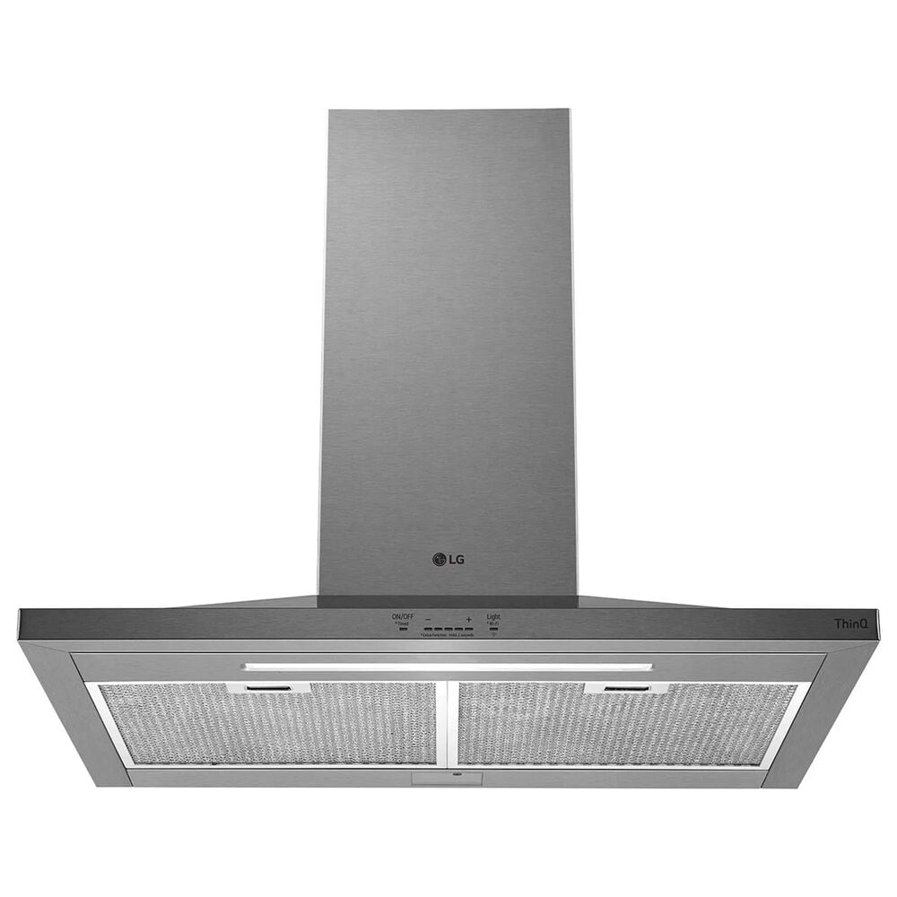 """LG 30"""" Wall Mount Chimney Hood in Stainless Steel, , large"""