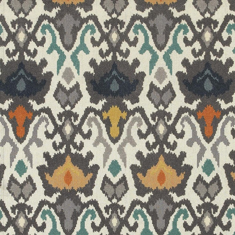"Oriental Weavers Hampton 530W5 9'10"" x 12'10"" Ivory Area Rug, , large"