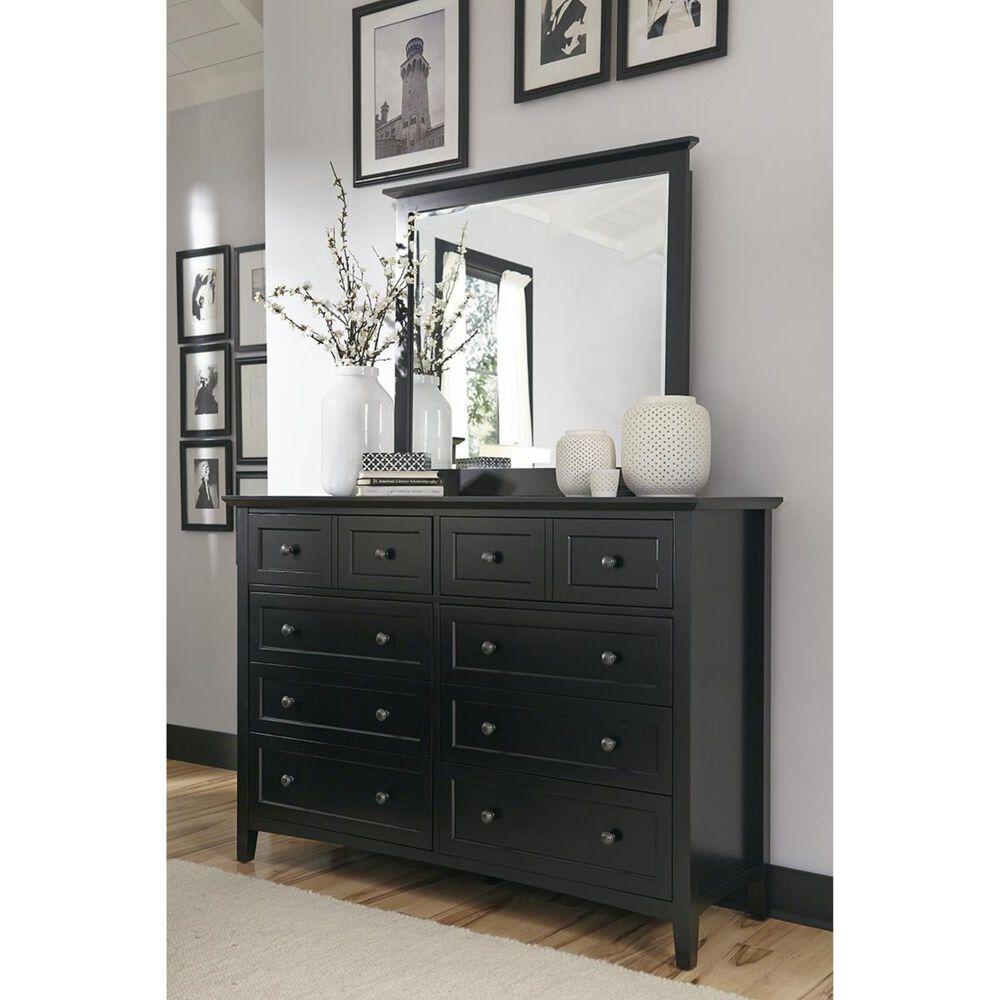 Urban Home Paragon 8 Drawer Dresser in Black, , large
